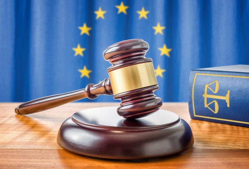 Richterhammer und Gesetzbuch - Europäische Union